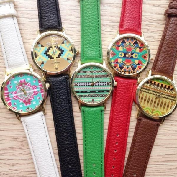Korea Style Watch Retro Quartz Watch Leather Band Unisex Wrist Watch For Men Lady Retro Round Quartz Watch